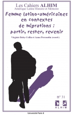 Publication Les Cahiers Alhim  (Amérique latine Histoire et Mémoire)