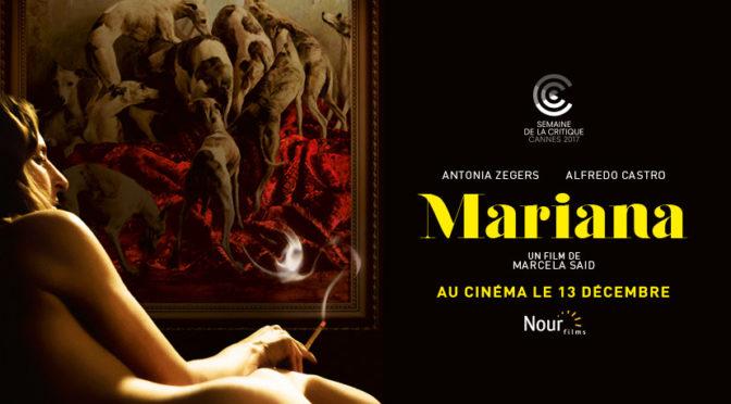 10 décembre [Avant-première] Mariana, au ciné TNB